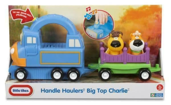 Little Tikes - Handle Haulers - BIG TOP CHARLIE - Push Along With Sounds